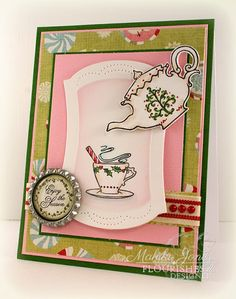 Stamps: Christmas Tea   MakInk Studio: Flourishes Free For All Friday! - Retire Sets