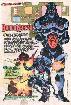 Baron Karza... The Darth Vader of Marvel... Wonder who else noticed that..?