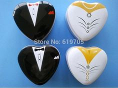 Find More Event & Party Supplies Information about Free shipping 100pcs lot personalized groom bride tin heart shape candy gift boxes wedding favors box event party supplier,High Quality candy mobile,China candy gift box Suppliers, Cheap gift candy box from Wedding-Gifts's Store on Aliexpress.com