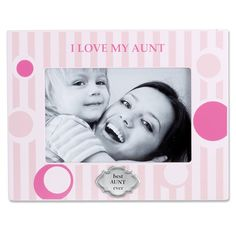 Lawrence Frames I Love My Aunt Horizontal Picture Frame | Wayfair