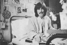 Feb 1969: George with an infected back molar which has in turn infected his tonsils.