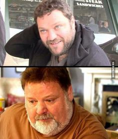 Bam Margera is turning into his dad - 9GAG