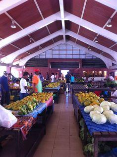 Food Market in Port Vila
