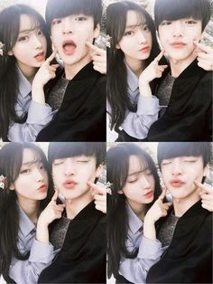 Page 3 Read from the story ulzzang by hopeordope (billie) with reads. Funny Couple Poses, Funny Couples, Couple Posing, Cute Korean, Korean Girl, Asian Girl, Ulzzang Couple, Ulzzang Girl, Parejas Goals Tumblr