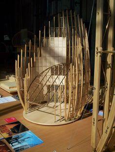 Renzo Piano- Tjibaou Cultural Center-Modelling