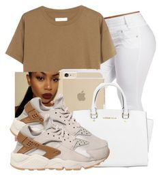 """Jori"" by f0rever-d ❤ liked on Polyvore featuring Madewell, Michael Kors and NIKE"