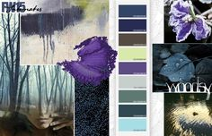 Fall / Winter 2015/2016 Color Inspirations: Intimates