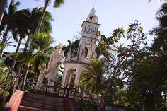Parte de la vista que tuvimos en la plaza de Ahuachapan.