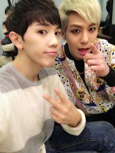 Leader JK and maknae Hightop