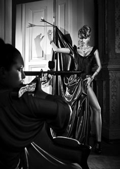 Black and White Fashion Photography by Szymon Brodziak   Who Designed It?