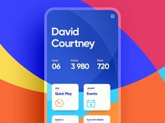 Smooth and Colourful Quiz iOS App design by Mike (Creative Mints)💥⠀ ⠀ Tap 💝💝 if you like the concept… – equisetic-splitter Ios App Design, Mobile App Design, Interaktives Design, Android App Design, Game Ui Design, Design Layout, Flat Design, Ui Animation, App Design Inspiration