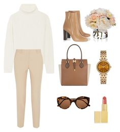 """Autumn #1"" by daliaaah ❤ liked on Polyvore featuring Proenza Schouler, DKNY, Burberry, Michael Kors, Illesteva, AERIN and Diane James"