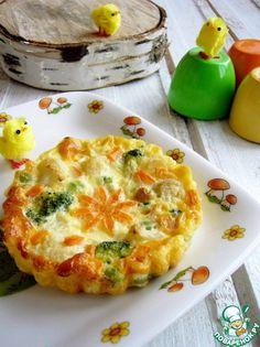 Детский омлет с овощами - кулинарный рецепт