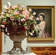 Milwaukee Art Museum Art in Bloom flower arrangement