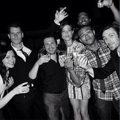 NBC's The Night Shift cast (21/5/13) source: Robert Bailey jr/twitter