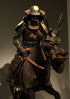 Japanese horse armor in the MOA Museum of Art, Atami ...