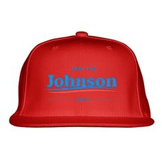 Feel The Johnson Embroidered Snapback Hat