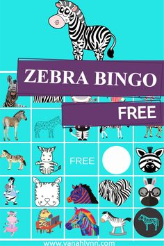 Trying to think of zebra birthday games to play at you next party? This Zebra bingo game is FREE! Download and print now for your upcoming zebra birthday party. Kids will have fun finding all the different zebras on this game board! Be sure to print this now and save the pin to your favorite birthday party board for later! Kids Birthday Crafts, Party Favors For Kids Birthday, Birthday Games, Easy Party Games, Valentine Bingo, Party Kit, Party Ideas, Free Games For Kids, Diy Party Supplies