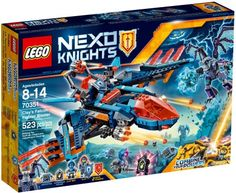 Buy LEGO NEXO KNIGHTS Clay`s Falcon Fighter Blaster NEW 2017for R1,129.00