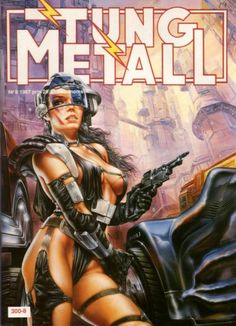 Cover for Tung metall (Epix, 1986 series) #8/1987