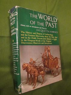 1963 ** The World of the Past ** Jacquetta Hawkes **  sj by theadlibrary on Etsy