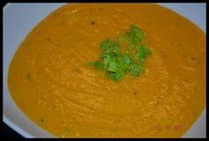 Vegetarisch und Vegan abnehmen: Hawaiianische Kokos - Ingwer - Karottensuppe (vegan)