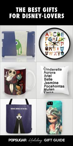 The Ultimate Gift Guide For Grown-Up Disney-Lovers Thought this was appropriate for us ; Christmas Gifts For Sister, Sister Gifts, Holiday Gift Guide, Holiday Gifts, 19th Birthday Gifts, Gifts For Disney Lovers, Family Vacation Destinations, The Ultimate Gift, Disney Stuff