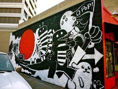 street art, little tokyo, LA