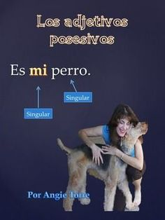 Los adjetivos posesivos PowerPoint for Spanish One by Angie Torre This Spanish Grammar, Ap Spanish, Grammar And Vocabulary, Spanish Teacher, Spanish Classroom, Spanish Lessons, Learn Spanish, Spanish Language, High School Spanish