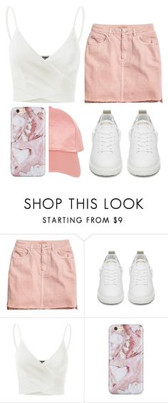 """""""Pink Marble"""" by youngmethod ❤ liked on Polyvore featuring Golden Goose, Doublju and Armitage Avenue"""