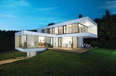 Eine Vision von einem Haus - Griffner Haus Dream House Exterior, Dream House Plans, Modern Architecture House, Architecture Details, Bungalow, New Builds, Exterior Design, My House, Sweet Home
