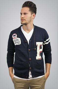 The Ballers League Varsity Cardigan by Profound Aesthetic, $92