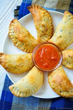 Savory Empanadas Recipe   ChefDeHome.com