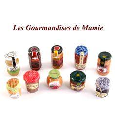 【フェーブ】LES GOURMANDISES DE MAMIE おばあちゃんのおもてなし ジャム瓶 10個