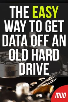 How to Connect and Get Data Off a Hard Drive in 5 Ways - - Need to get data off an old hard drive? It's easier than you think! Here's how to connect an old hard drive to your PC. Life Hacks Computer, Computer Diy, Computer Basics, Computer Internet, Computer Repair, Computer Hacking, Drive In, Technology Hacks, Computer Technology