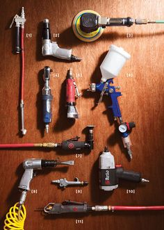 Upgrade Your Garage With Compressed Air Tools