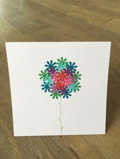 Flower Birthday Card £3.80