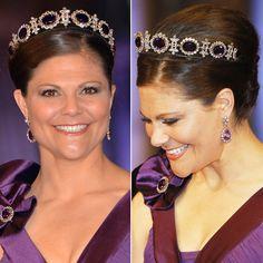 Crown Princess Victoria: Amethyst parure details