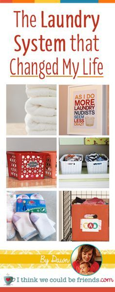 How I literally cut the time it takes me to do laundry from start to finish in half (and why I got rid of ALL of our laundry baskets!)
