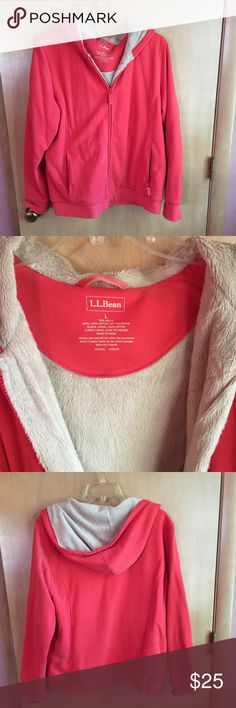 L.L. Bean jacket! Ike new condition. Beautiful and comfy l.l. Bean jacket. Soft material on the inside. Has a good. Smoke free/pet free home! L.L. Bean Jackets & Coats