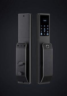 Digital Keyless Home Door Lock Touchscreen Entry Door Locks, Front Door Locks, Smart Door Locks, High Tech Gadgets, Home Gadgets, Smart Home Technology, Technology Gadgets, Keyless Locks, Digital Lock