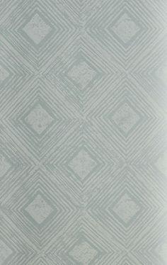 Reflection Wallpaper Robins Egg by James Dunlop Indent
