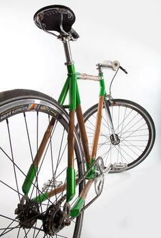 Eco-friendly bamboo bicycles