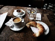 coffee + croissant wouldn't hurt
