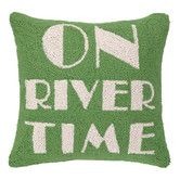 Found it at Joss & Main - On River Time Pillow