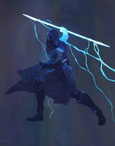 View an image titled 'Hunter Arcstrider Art' in our Destiny 2 art gallery featuring official character designs, concept art, and promo pictures. Destiny Hunter, Destiny Game, Fantasy Character Design, Character Concept, Character Art, Fantasy Inspiration, Character Inspiration, Armor Concept, Concept Art
