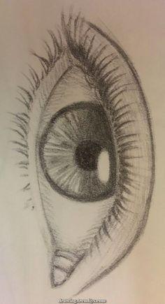 Art Sketchbook Inspiration Pencil – Art World 20 Art Drawings Sketches Simple, Pencil Art Drawings, Sketch Art, Easy Drawings, Girl Sketch, Beautiful Drawings, Sketch Of An Eye, Sketches Of Eyes, Animal Drawings