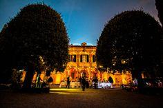 [Battery Uplighting + String Lights] @ La Foce - Chianciano Terme (Siena)