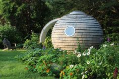 The 'Podzook' is a Sphere-Shaped Space Perfect for the Backyard #design trendhunter.com