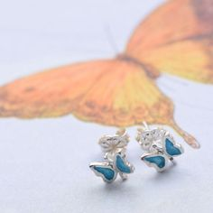 ❀ Dainty butterfly earrings for young ladies. A perfect gift for special occasions such as graduation, birthday, anniversary or bridesmaids gift. ❀ Everyday earrings set for small girls, ideal for flower girls gift. Flower Girl Gifts, Flower Girls, Romantic Mood, Butterfly Earrings, Etsy Earrings, Bridesmaid Gifts, Earring Set, Business Marketing, Gift Ideas